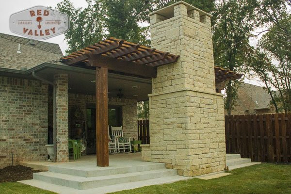 Custom Arbors & Pavilions by Red Valley Landscape & Construction in Cedar Park, Texas