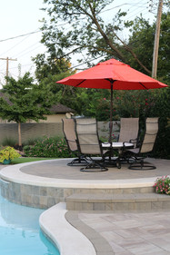 Custom Patios & Pavers by Red Valley Landscape & Construction in Nichols Hills, Ok