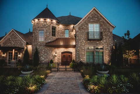 Landscape Lighting by Red Valley Landscape & Construction in Georgetown, Texas