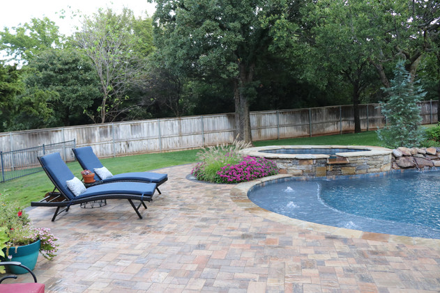 Custom Patios & Pavers by Red Valley Landscape & Construction in The Hills, Texas