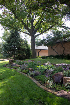 Residential Landscape by Red Valley Landscape & Construction located in Oklahoma
