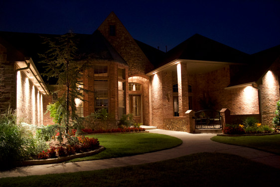 Landscape Lighting by Red Valley Landscape & Construction in Barton Creek, Texas