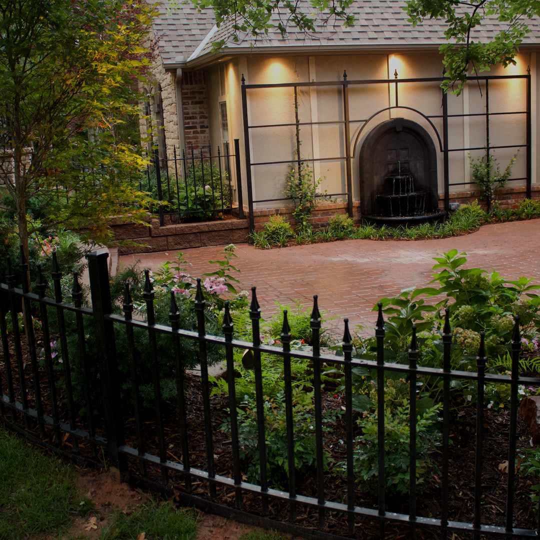 Custom Fenced & Trellises by Red Valley Landscape & Construction in Oklahoma