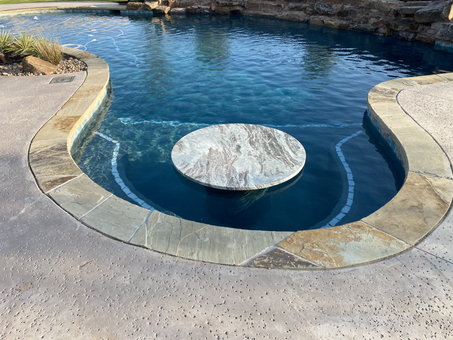 Custom Pools & Spas by Red Valley Landscape & Construction in Oklahoma