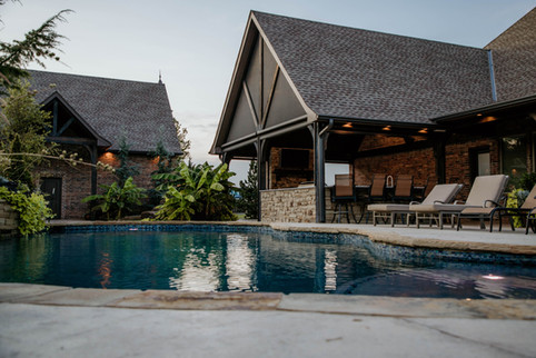 Custom Arbors & Pavilions by Red Valley Landscape & Construction in Briarcliff, Texas