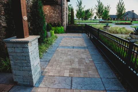 Custom Patios & Pavers by Red Valley Landscape & Construction in Lago Vista, Texas