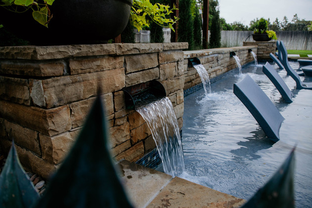 Custom Stonework & Masonry by Red Valley Landscape & Construction in North Austin