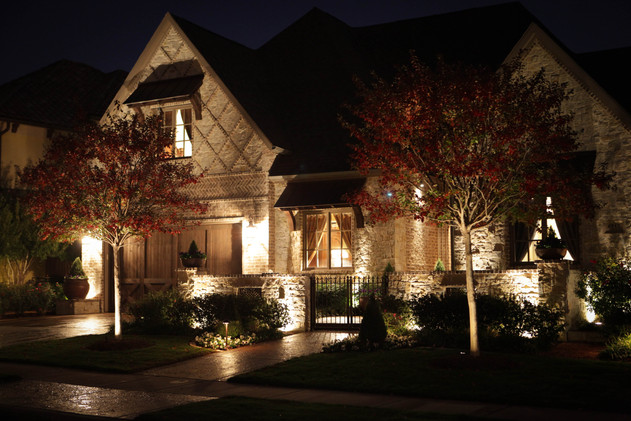 Landscape Lighting by Red Valley Landscape & Construction in Moore, Ok