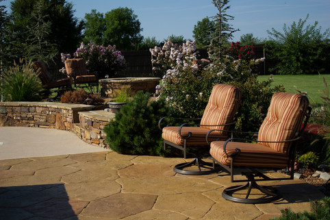 Custom Stonework & Masonry by Red Valley Landscape & Construction in Norman, Ok