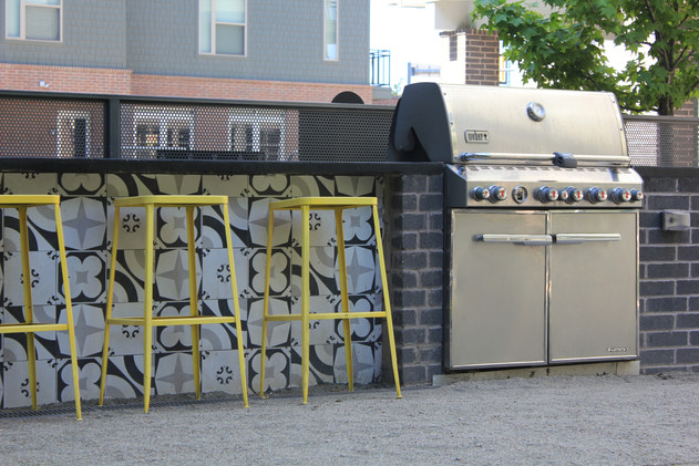 Custom Outdoor Kitchen by Red Valley Landscape & Construction in North Austin