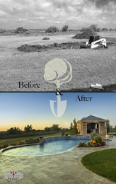 Custom Swimming Pools, Spas, and Water Features by Red Valley Landscape & Construction located in ATX