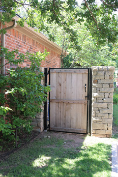 Custom Fences & Trellis by Red Valley Landscape & Construction in ATX