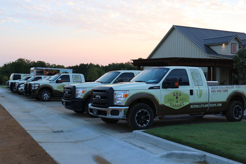 Irrigation & Drainage by Red Valley Landscape & Construction in Oklahoma City