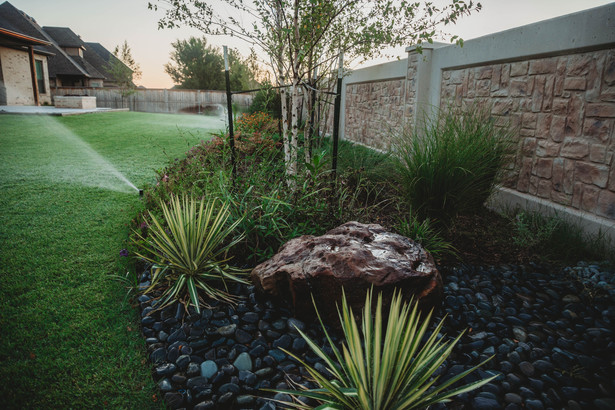 Irrigation & Drainage by Red Valley Landscape & Construction in Marble Falls, Texas