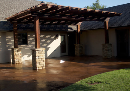 Custom Arbors & Pavilions by Red Valley Landscape & Construction in Round Rock, Texas