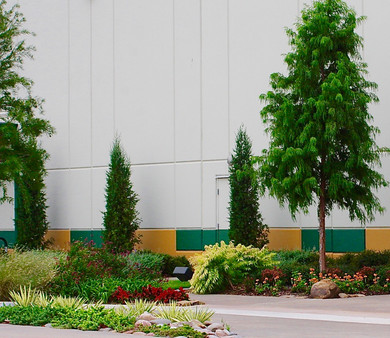 Commercial Landscape Design & Installation by Red Valley Landscape & Construction in Oklahoma