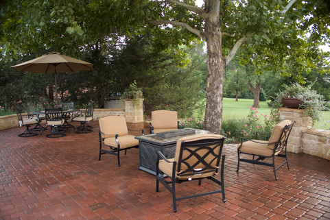 Custom Patios & Pavers by Red Valley Landscape & Construction in Jones, Ok