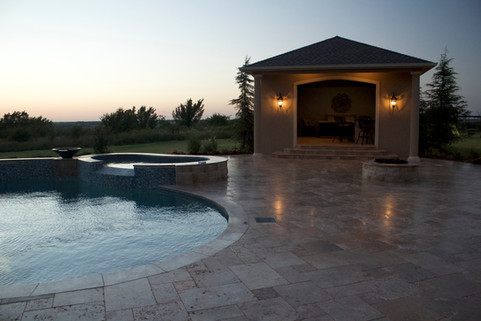 Custom Patios & Pavers by Red Valley Landscape & Construction in Elk City, Ok