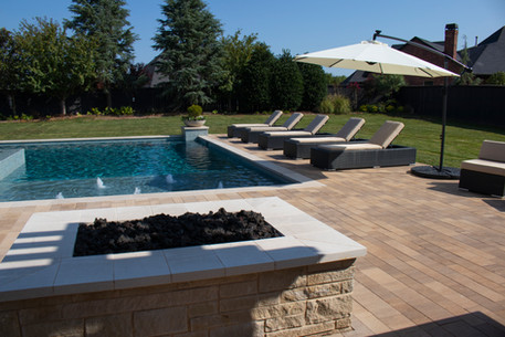 Custom Fire Pits & Fireplaces by Red Valley Landscape & Construction in West Lake Hills, Texas