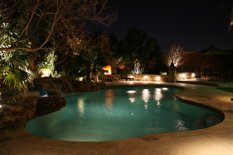 Landscape Lighting by Red Valley Landscape & Construction in Spicewood, Texas