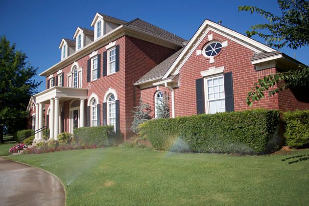 Irrigation & Drainage by Red Valley Landscape & Construction in OKC Metro