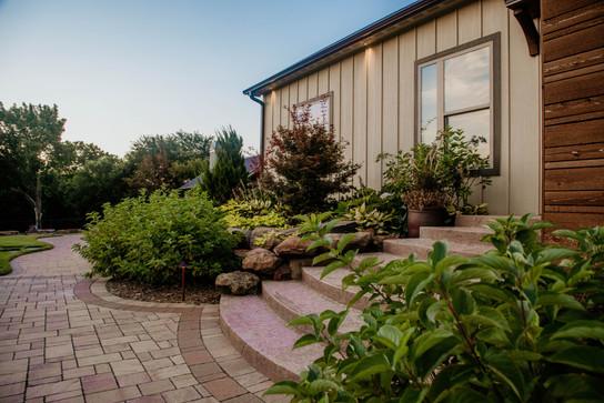Landscape Design & Installation by Red Valley Landscape & Construction in OKC, Ok