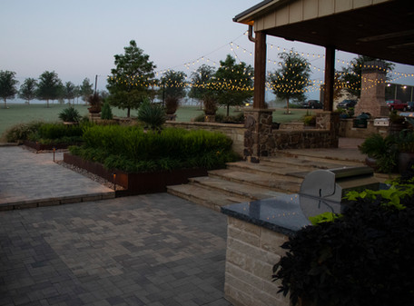 Landscape Lighting by Red Valley Landscape & Construction in Bee Cave, TX