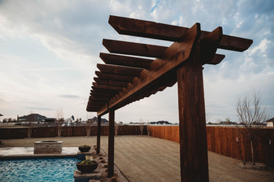Custom Fences & Trellis by Red Valley Landscape & Construction in West Lake Hills, Texas