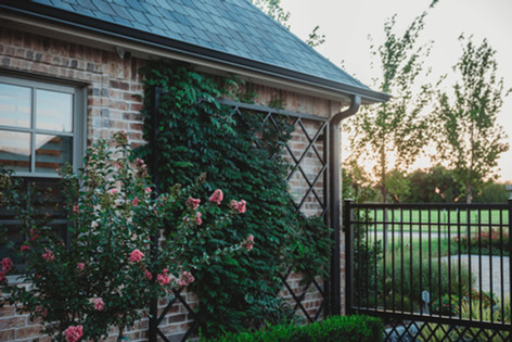 Custom Fences & Trellis by Red Valley Landscape & Construction in Volente, Texas