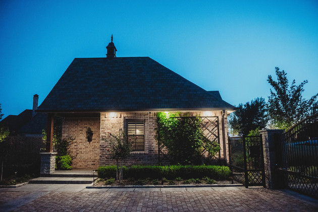 Landscape Lighting by Red Valley Landscape & Construction in Oklaoma City