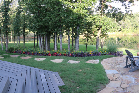 Residential Landscape Maintenance by Red Valley Landscape & Construction in Arcadia, OK