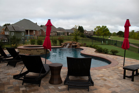 Custom Pools & Spas by Red Valley Landscape & Construction in Bee Cave, Texas