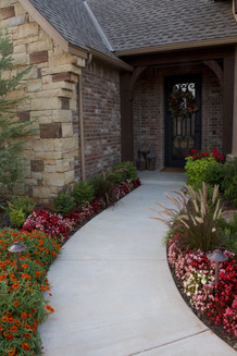 Landscape Design & Installation by Red Valley Landscape & Construction in Norman, Oklahoma