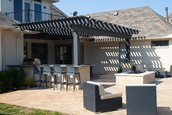 Custom Stonework & Masonry by Red Valley Landscape & Construction in ATX