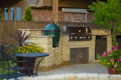 Outdoor Living at Its Finest by Red Valley Landscape & Construction in Oklahoma