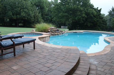 Custom Patios & Pavers by Red Valley Landscape & Construction in Horseshoe Bay, Texas