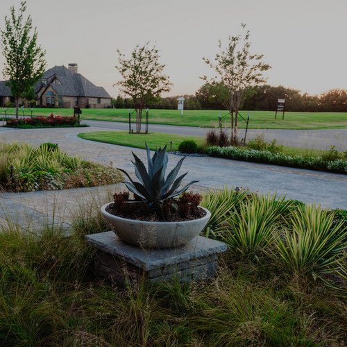 Residential Landscape Design & Installation by Red Valley Landscape & Construction Edmond Oklahoma