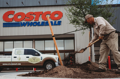 Commercial Landscape Design & Installation by Red Valley Landscape & Construction in Oklahoma City