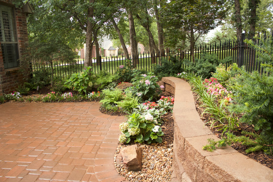 Landscape Design & Installation by Red Valley Landscape & Construction in OKC Metro