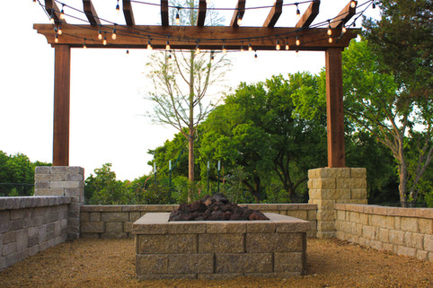 Custom Arbors & Pavilions by Red Valley Landscape & Construction in Oklahoma City