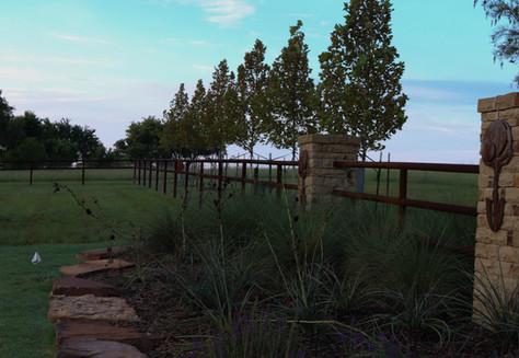 Custom Fences & Trellis by Red Valley Landscape & Construction in Edmond, Ok