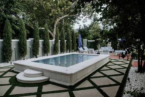 Custom Pools & Spas by Red Valley Landscape & Construction in OKC, Ok