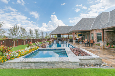 Landscape Design & Installation by Red Valley Landscape & Construction in Edmond