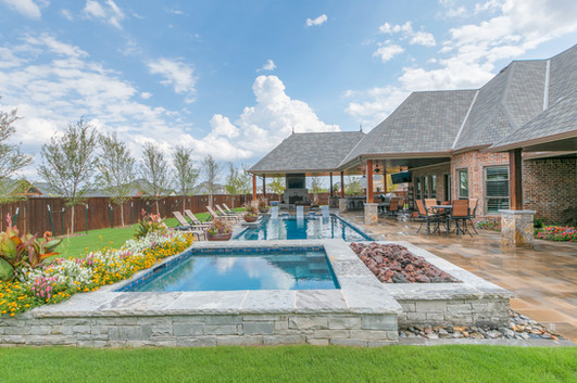 Landscape Design & Installation by Red Valley Landscape & Construction in Spicewood Texas