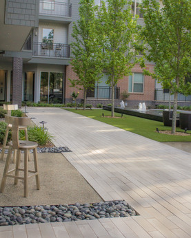 Commercial Hardscape & Construction by Red Valley Landscape & Construction in OKC Metro