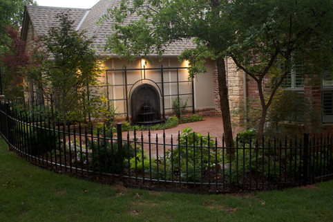 Landscape Lighting by Red Valley Landscape & Construction in Nichols Hills