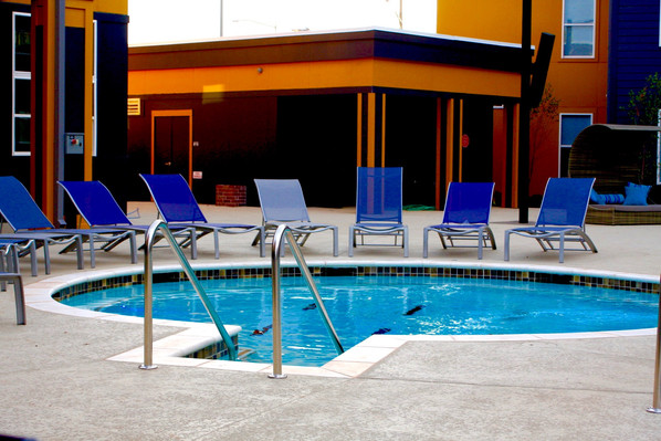 Custom Commercial Pools & Spas by Red Valley Landscape & Construction in Austin, Texas