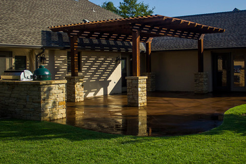 Residential Landscape Maintenance by Red Valley Landscape & Construction in Norman, Ok