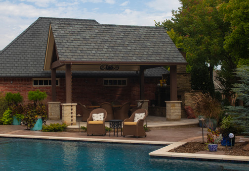 Custom Arbors & Pavilions by Red Valley Landscape & Construction in ATX
