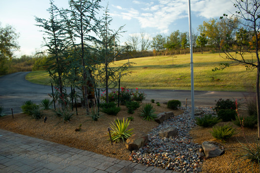 Irrigation & Drainage by Red Valley Landscape & Construction in OKC, Ok